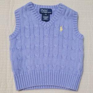 Nice Ralph Lauren infant boys sweater vest